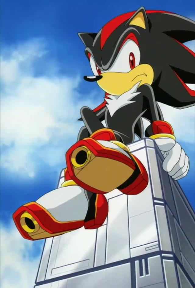 Shadow Em Sonic X
