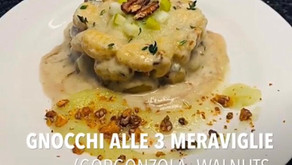 Stay safe, Eat delicious with our chef's recipes!  °°° Gnocchi alle tre meraviglie  °°°