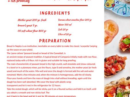 Rosso's recipes °Pane 'cafone' - home made Neapolian bread°