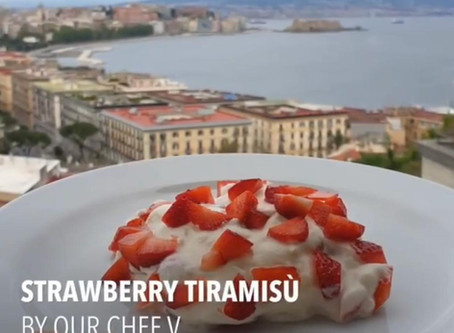 Stay safe, Eat delicious with our chef's recipes!  °°°Strawberry Tiramisù°°°