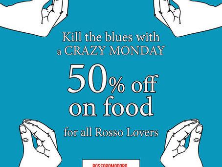 Kill the blues with a CRAZY MONDAY
