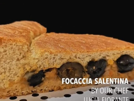 Stay safe, Eat delicious with our chef's recipes!  °°°Focaccia Salentina°°°