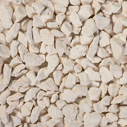 Gravillons blanc calcaire