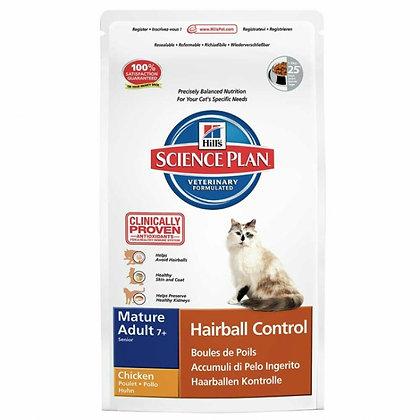Feline hairball control mature