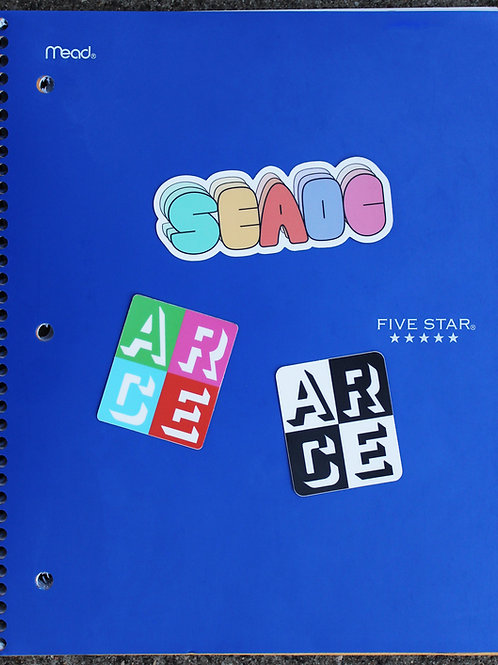 ARCE Stickers
