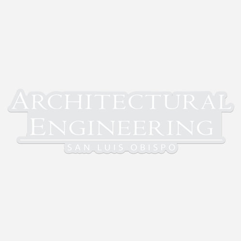Architectural Engineering SLO Sticker