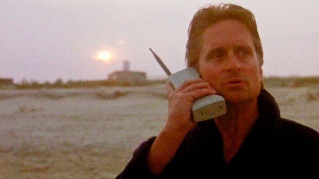 Gordon Gekko Wall Street Motorola 8000X Dynatac