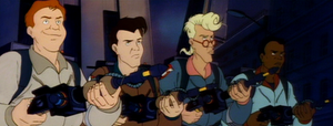 The Real Ghostbusters.