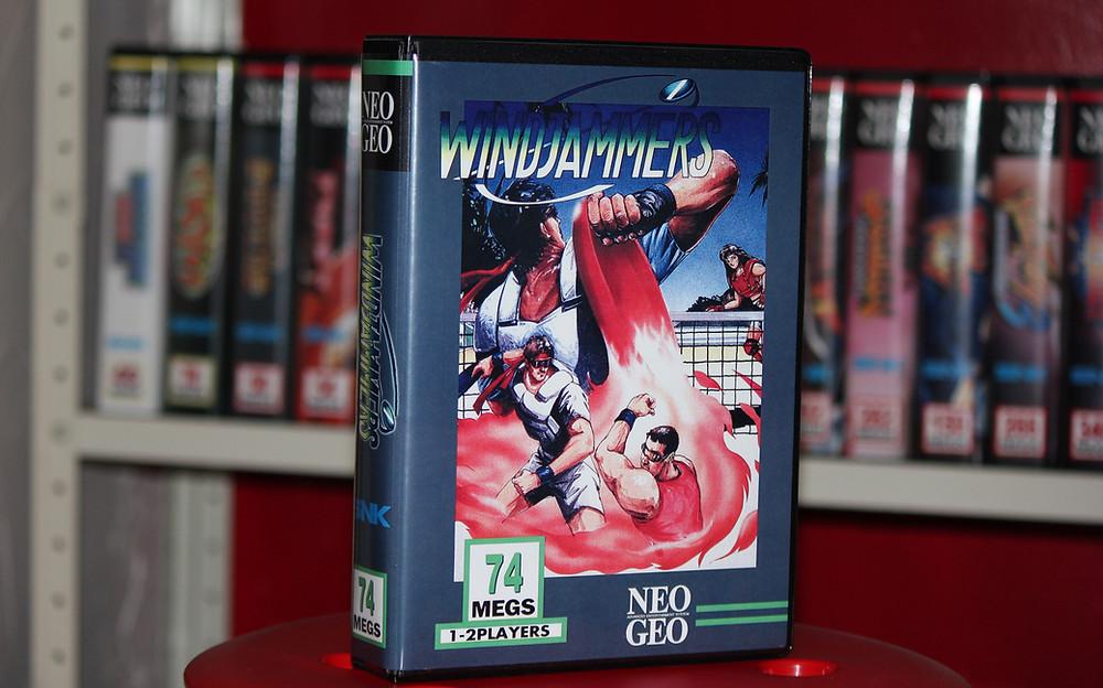 Neo Geo MVS Windjammers Shockbox.