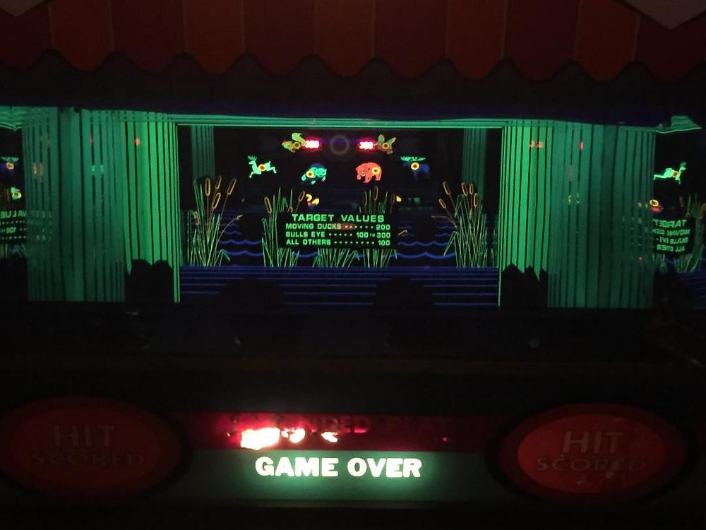 Big Top vintage arcade game