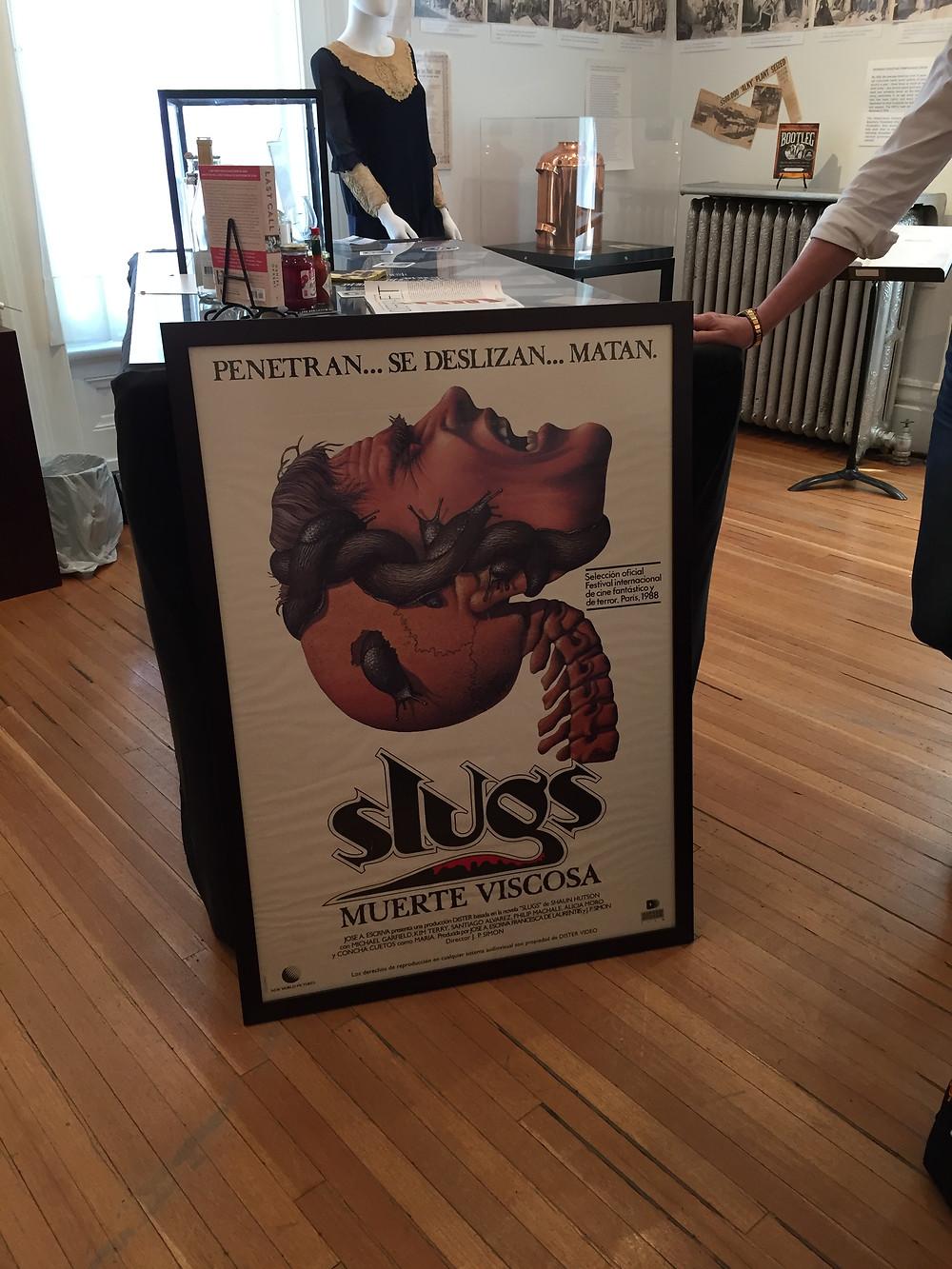 Original Spanish Slugs movie poster.