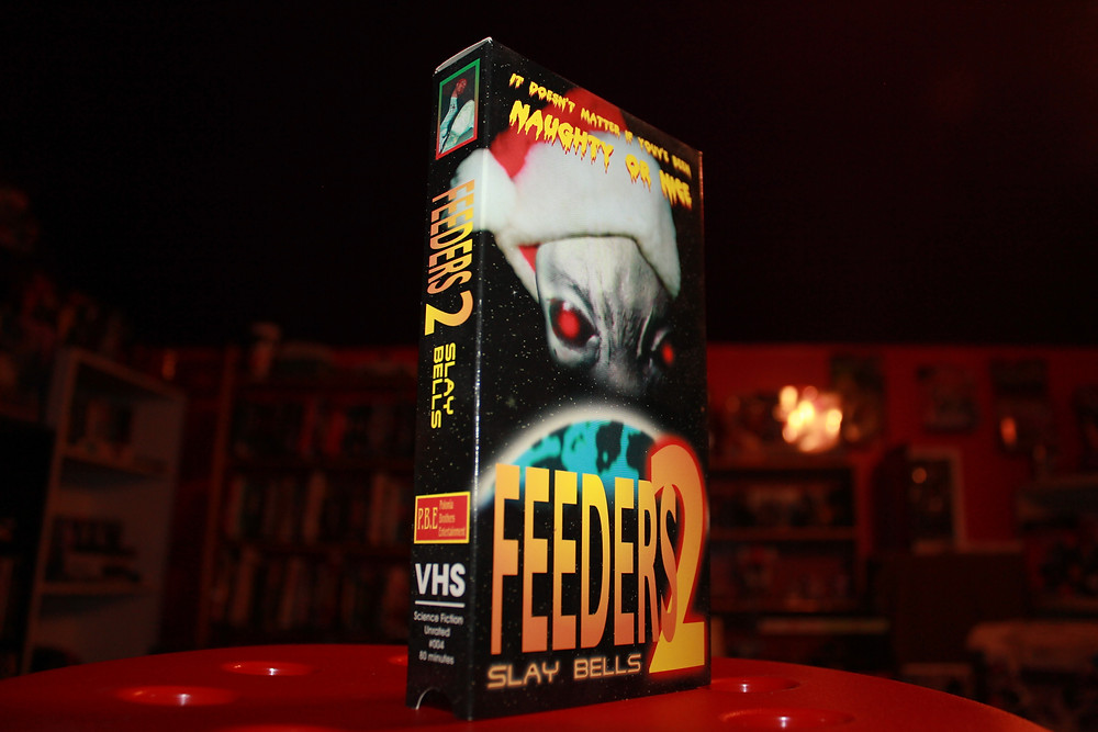 Polonia Bros. Entertianment Feeders 2: Slay Bells VHS tape.