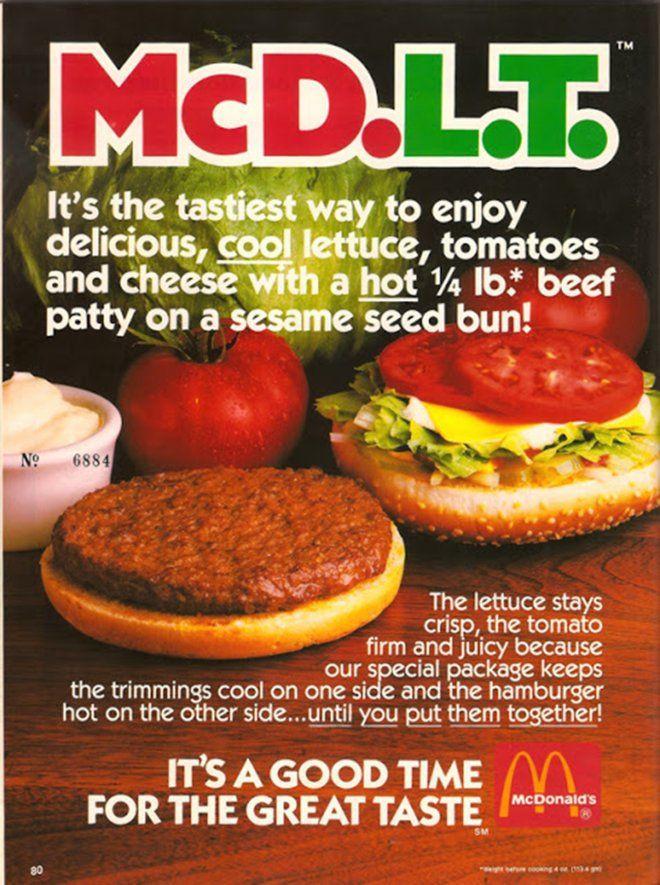 McDLT ad.