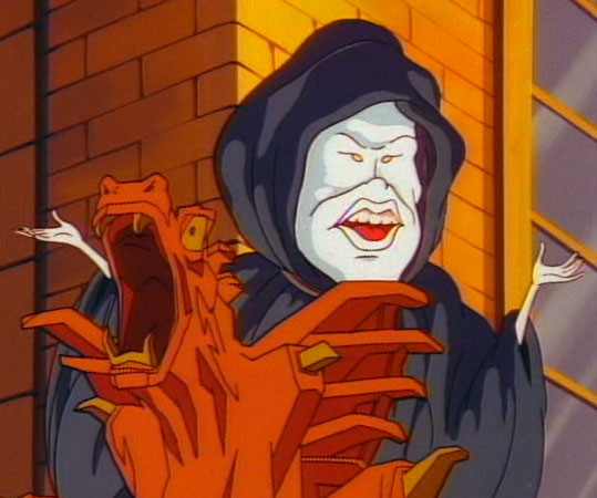 The Real Ghostbusters Sandman.