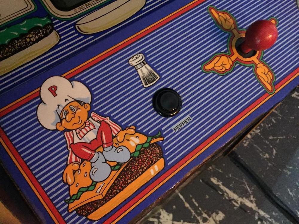 Bally/Midway and Data East's BurgerTime arcade game.