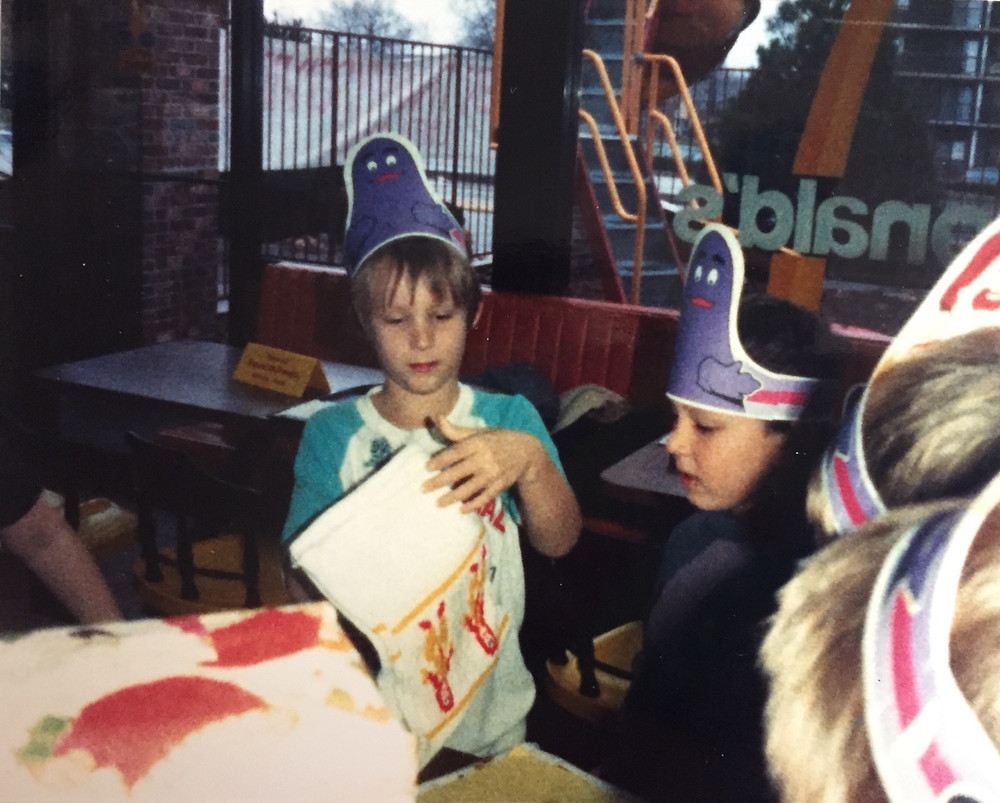 '80s McDonald's birthday party.