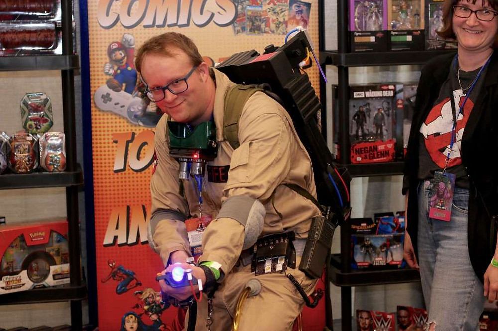Ghostbuster at 2018 Empire State Comic Con.