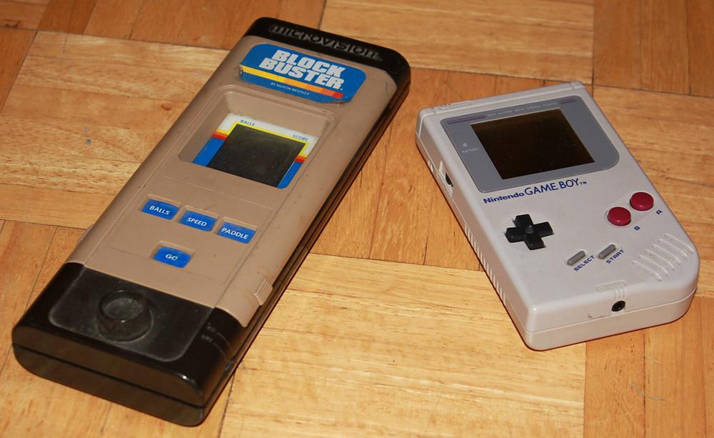 Milton-Bradley Microvison and Nintendo Game Boy