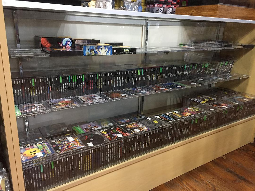 PlayStation games at Robot City, Binghamton, NY