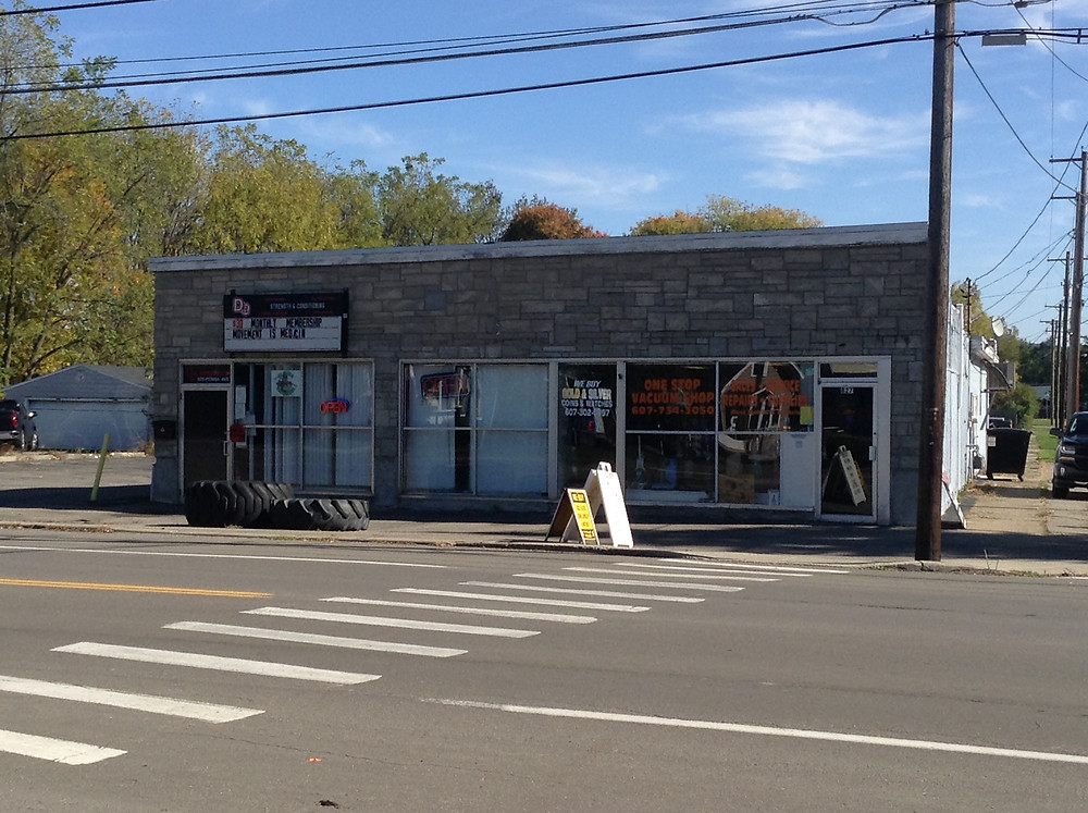 Former video store