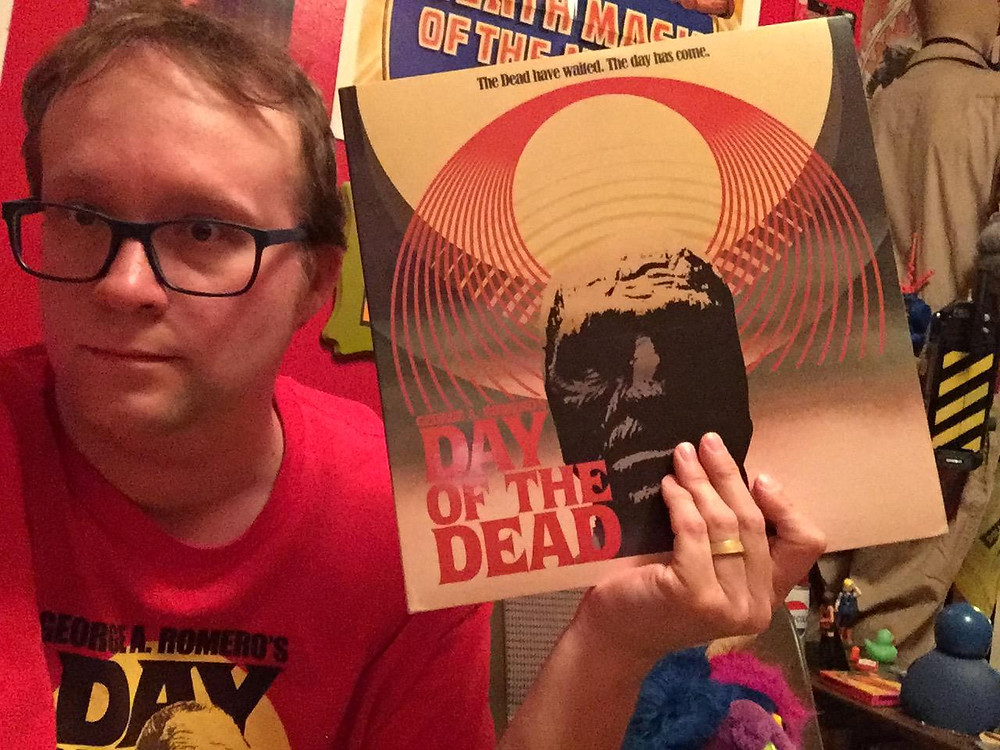 John Harrison Day of the Dead score Waxwork Records.