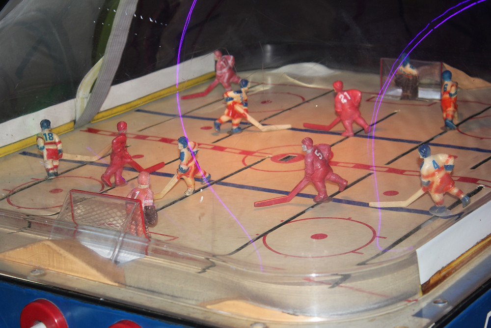 Chexx Bubble Hockey arcade game