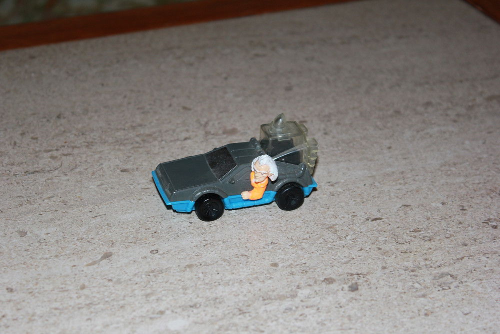 Back to the Future The Series BTTF McDonald's Doc's DeLorean Happy Meal toy