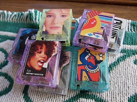 Pocket Rockers tapes.