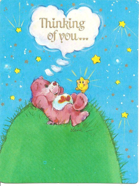 Care Bears American Greetings card