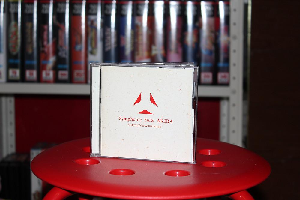 Akira soundtrack CD.