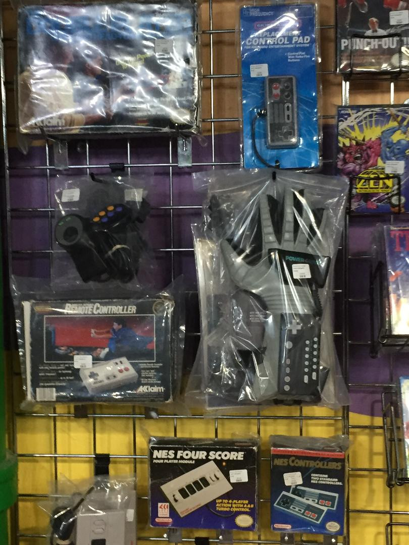 Nintendo Power Glove at Robot City Games, Binghamton, NY