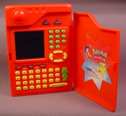 Tiger Electronic Pokedex.