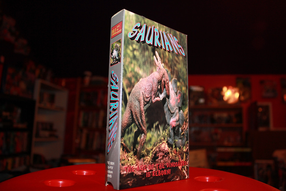 Polonia Bros. Entertianment Saurians VHS tape.