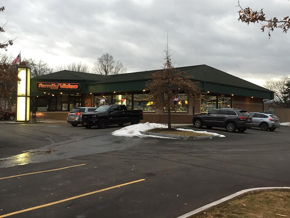 Family Video store, Elmira, NY.