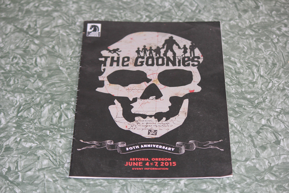 The Goonies 30th Annivearsary Astoria, Oregon promo booklet from Dark Horse Comics.