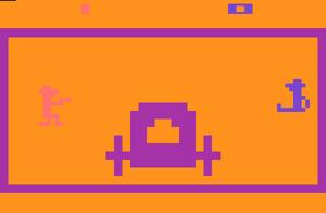Outlaw game for Atari 2600.