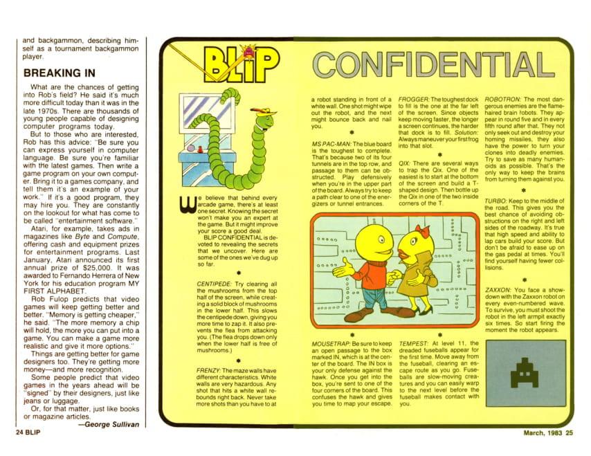Marvel Blip magazine