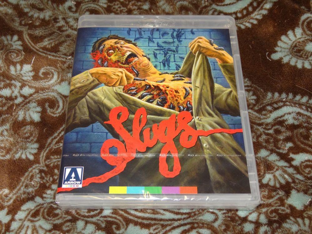 Slugs: The Movie Blu-ray from Arrow.