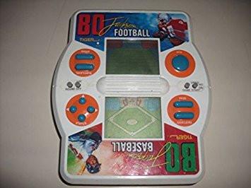 Bo Jackson Football Baseball Tiger handheld LCD game.