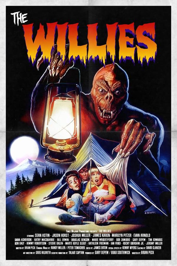 James Karen The Willies movie poster