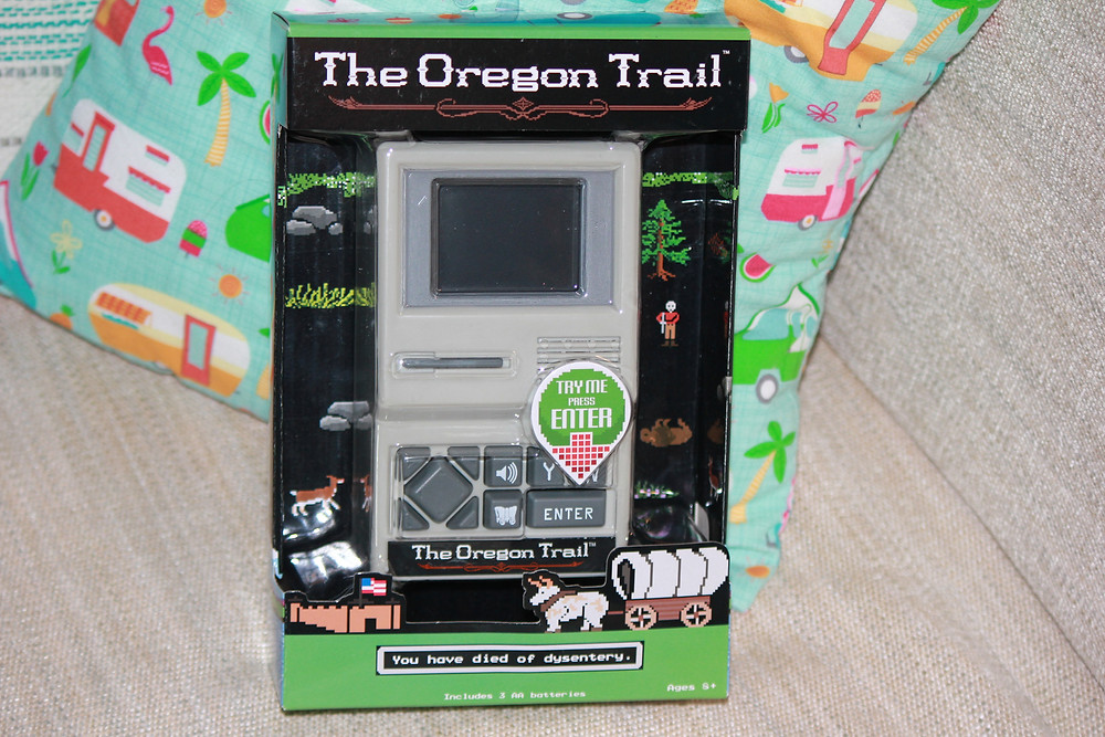 The Oregon Trail handheld by Basic Fun