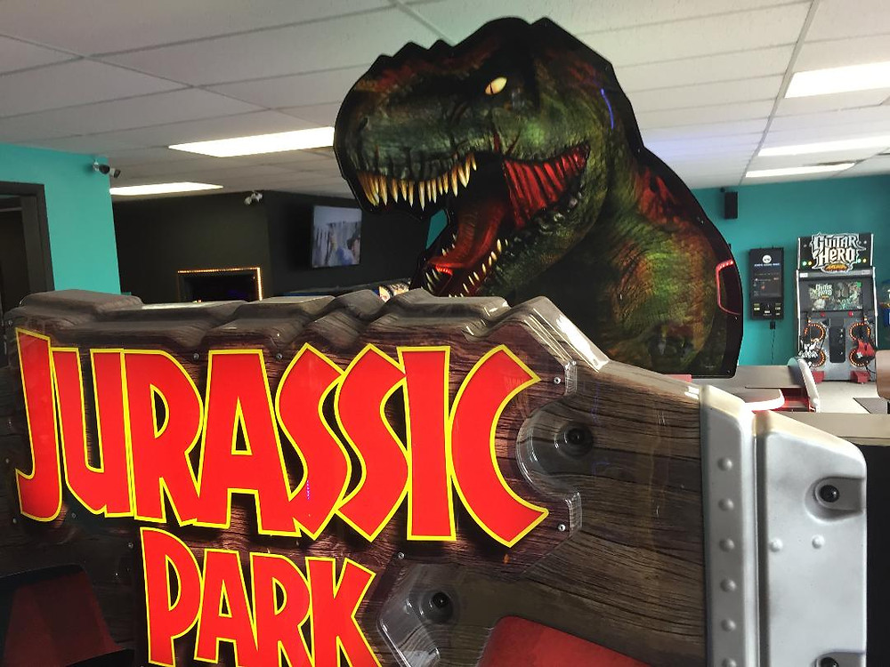 Jurassic Park arcade game.