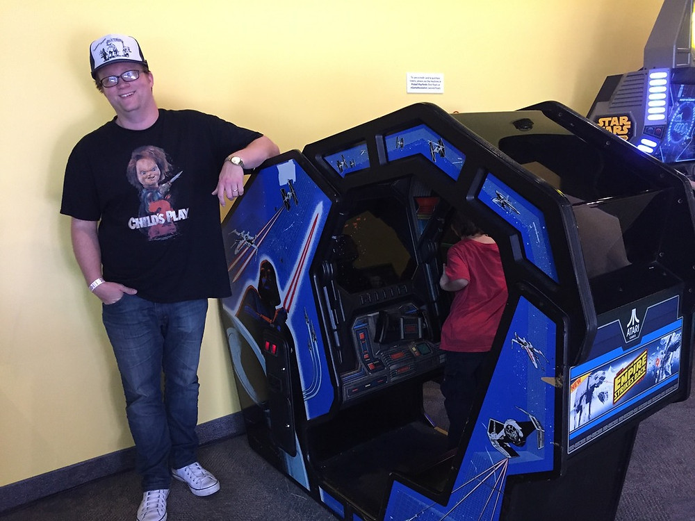 Star Wars arcade cockpit, Strong Museum, Rochester, NY.
