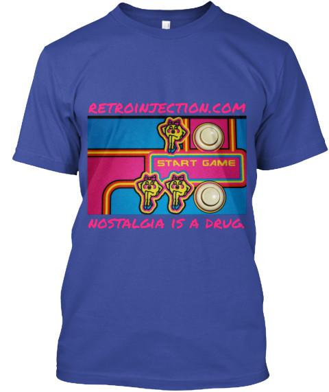 Retroinjection.com arcade t-shirt