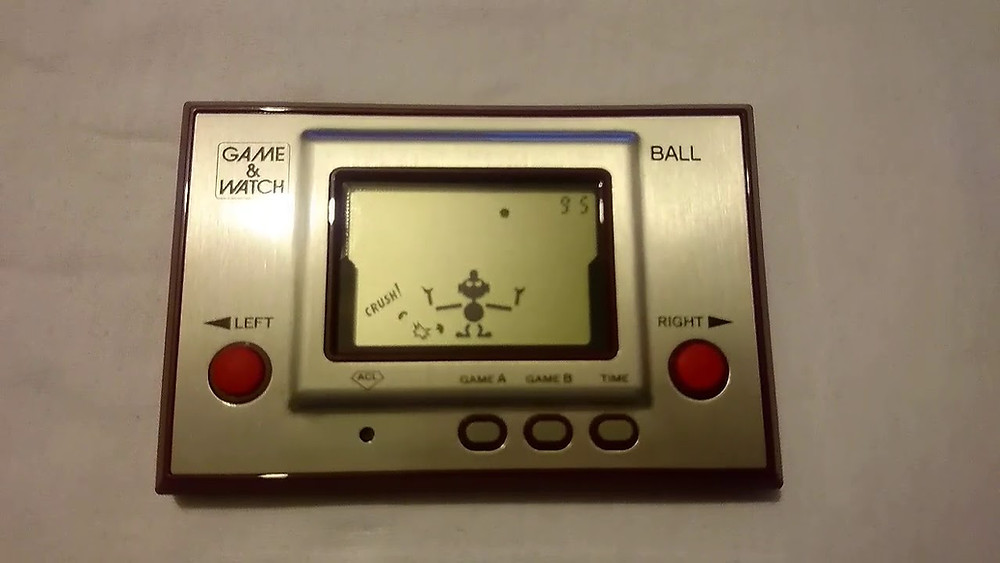 Nintendo Ball Game and Watch LCD handheld.