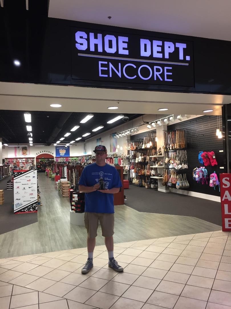Shoe Dept. Encore, former Kay Bee Toys.