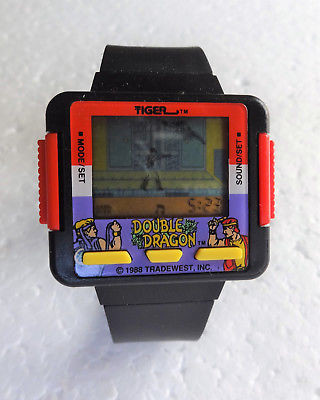 Tiger Double Dragon LCD game watch.