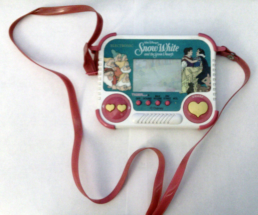 Snow White Tiger LCD game.