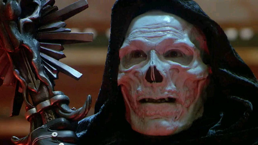 Frank Langella as Skelator from Masters of the Universe movie 1987.