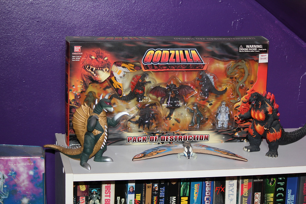 Bandai Godzilla toys.